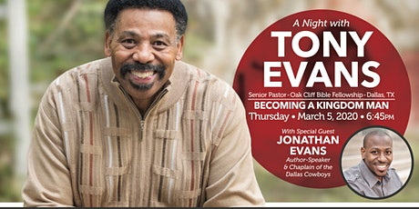 A Night With Tony Evans,  Becoming A Kingdom Man tickets