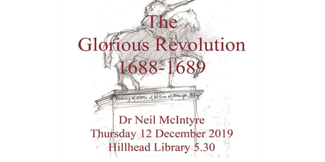 The Glorious Revolution 1688 - 1689 Talk tickets