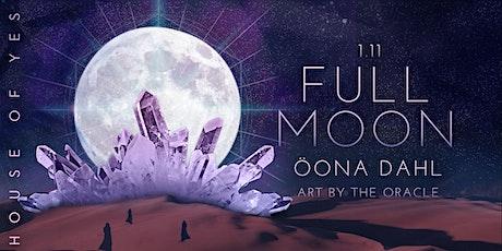 Full Moon with Öona Dahl tickets