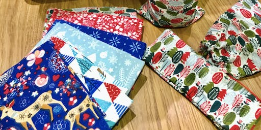 Adults Sewing : Festive Gift Bags