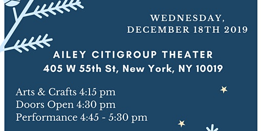 Holiday Charity Performance for Candlelighters NYC