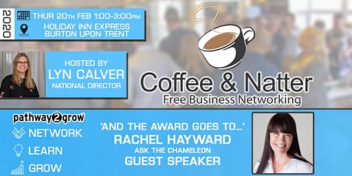 Burton Coffee & Natter - Free Business Networking Thur 20th February