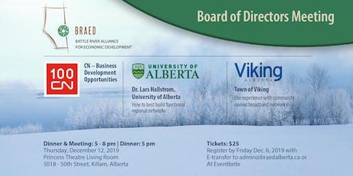 BRAED Board of Directors Meeting