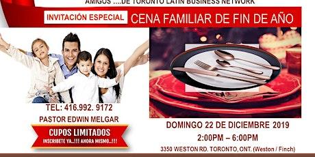 Cena Familiar de Fin de Año tickets
