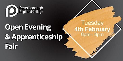 PRC Open Evening & Apprenticeship Fair - Tuesday 4th February 2020 (6pm - 8pm)