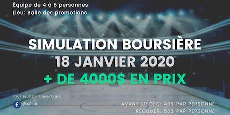 32ème édition de la Simulation Boursière de l'Aéful 2020 billets