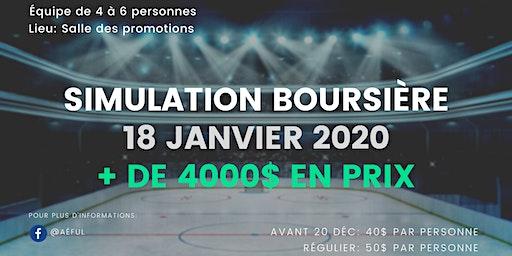 32ème édition de la Simulation Boursière de l'Aéful 2020
