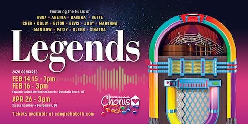 "CAMP Rehoboth Chorus - ""Legends"" Concert!"