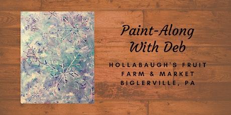 Flurries - Hollabaugh Bros. Inc. Paint-Along tickets