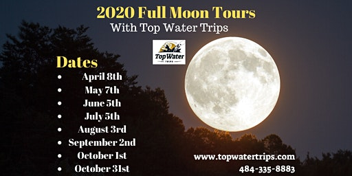 Full Moon Kayak Tours with Top Water Trips
