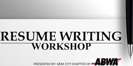 ABWA Gem City - Resume Seminar