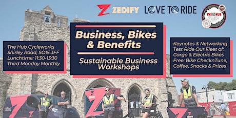 Business, Bikes & Benefits - January tickets