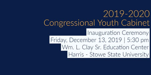 2019-2020 Congressional Youth Cabinet Inauguration Ceremony