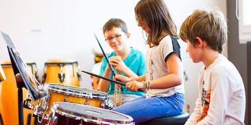 Concert de l'orchestre des 9-14 ans du Conservatoire de Croix
