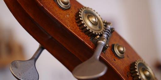 Quatuor de contrebassistes du Conservatoire de Croix