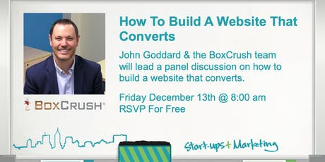Smartups: How To Build A Website That Converts - Panel Discussion tickets