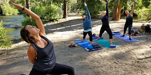 Kim's Yoga & Crafty Camping Retreat