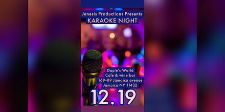 Karaoke Night! tickets