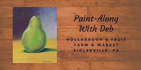 Green Pear - Hollabaugh Bros. Inc. Paint-Along tickets