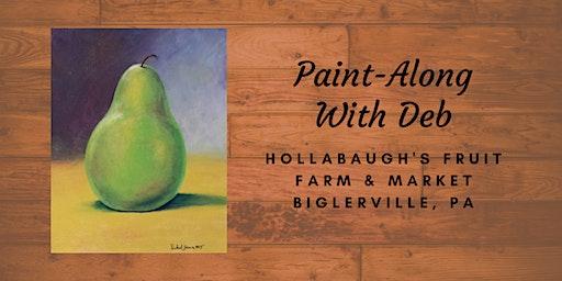 Green Pear - Hollabaugh Bros. Inc. Paint-Along