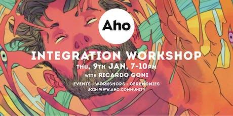 Integration workshop: Sacred Plants. tickets