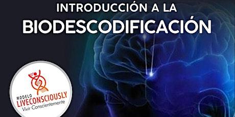 """Introducción a la Biodescodificación """"La historia detrás de la historia"""" entradas"""