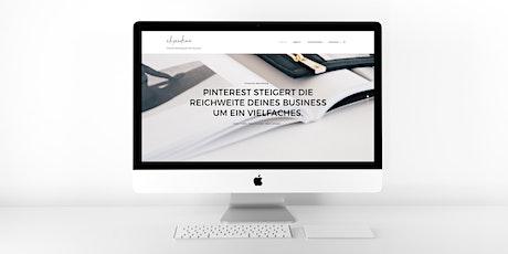 Pinterest Workshop für Beginner Tickets