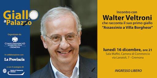 Giallo a Palazzo - incontro con Walter Veltroni