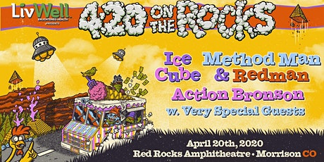Ice Cube x Method Man & Redman w/ Action Bronson at RED ROCKS AMPHITHEATRE tickets