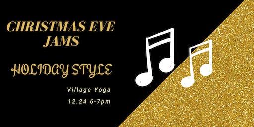 Christmas Eve Yoga & Jams