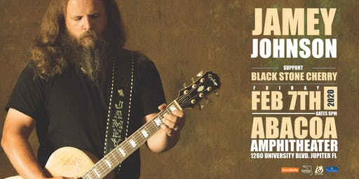 JAMEY JOHNSON W/ BLACK STONE CHERRY - JUPITER
