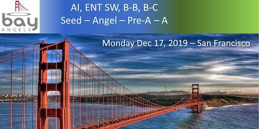 Bay Angels Investors Event - Dec 17, 2019- San Francisco