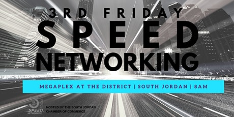 3rd Friday Speed Networking  tickets