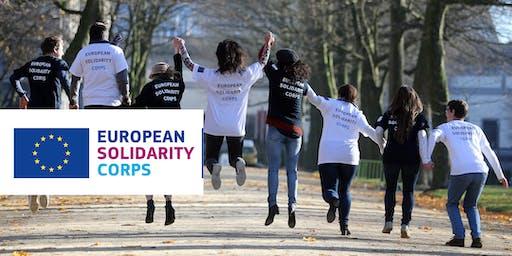 European Solidarity Corps Application Workshop, Athlone