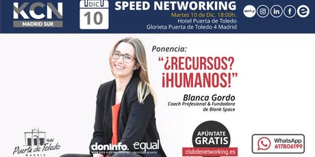¿Recursos? ¡Humanos!  & Speed Networking entradas