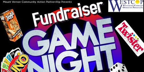 Fundraiser  Game Night For Mount Vernon CAP tickets