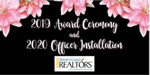 2019 Awards Ceremony & 2020 Officer Installation - January 9, 2020
