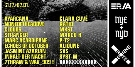 NYE & NYD | ER/A x Rote Sonne Tickets
