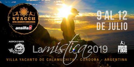 S3 - UTACCH, Ultra Amanecer Comechingon - ANSILTA 2020 entradas