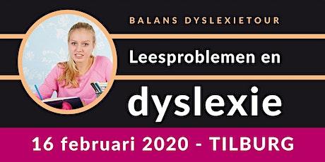 Balans Dyslexietour - Tilburg tickets