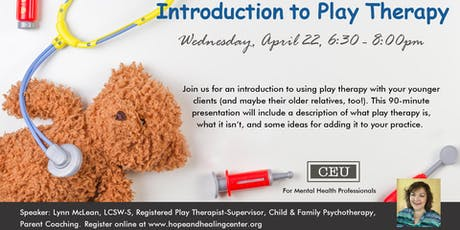 CE Unit: Introduction to Play Therapy tickets