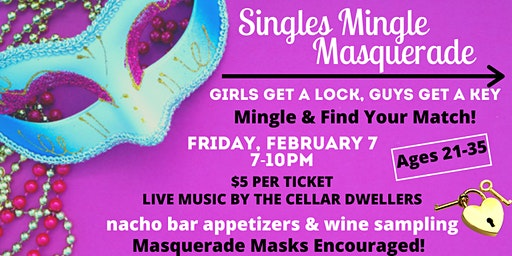 Singles Mingle: Lock and Key Masquerade