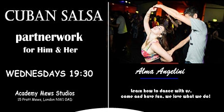 Cuban Salsa Classes Beginners Partnerwork tickets