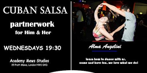 Cuban Salsa Classes Beginners Partnerwork