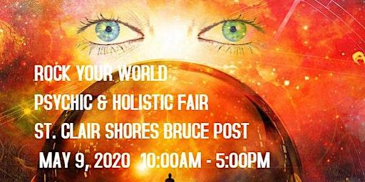 Rock Your World St. Clair Shores Psychic & Holistic Fair