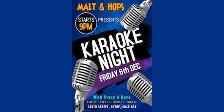 Karaoke at The Malt tickets