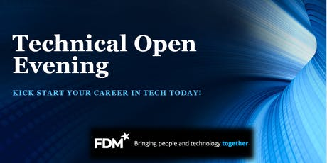 Technical Open Evening - FDM Group tickets