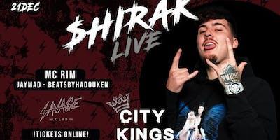 CITYKINGS • JACK $HIRAK live on stage  •