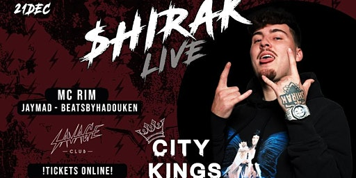 CITYKINGS • JACK $HIRAK live on stage  •