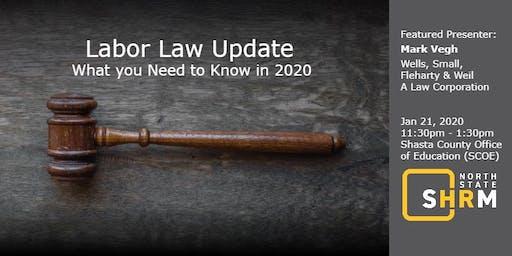 2020 Labor Law Update